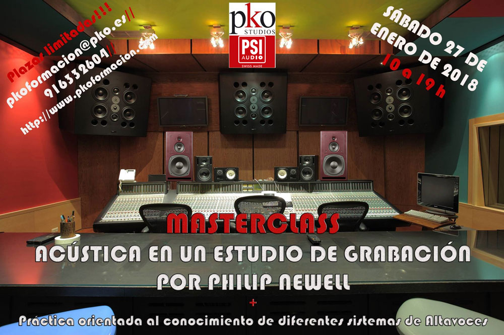 Masterclass at pko Studios Madrid