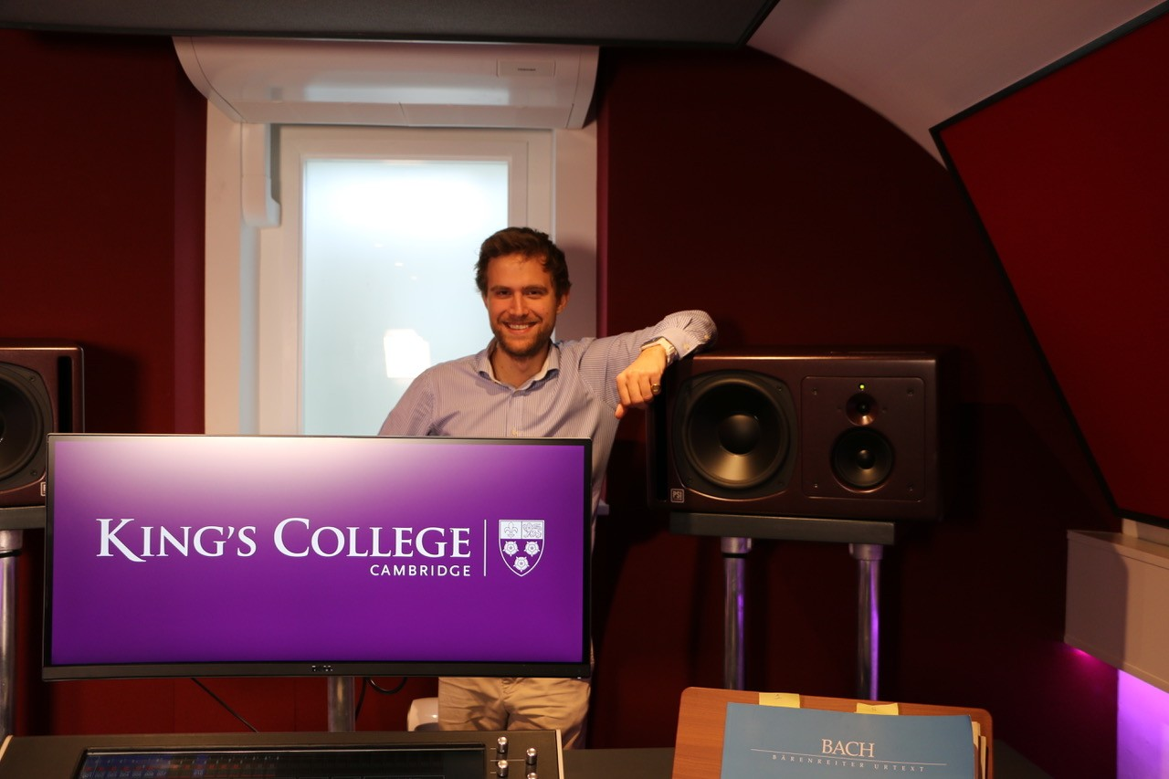 Ben Sheen Kings College with PSI Audio A25-M