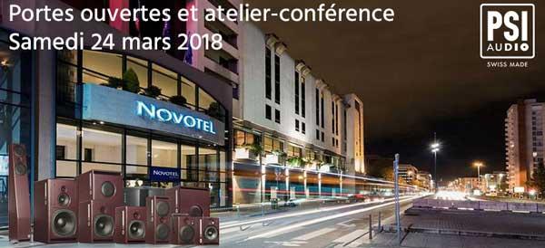 Atelier-Conférences et démonstration d'enceintes de studio à Lyon