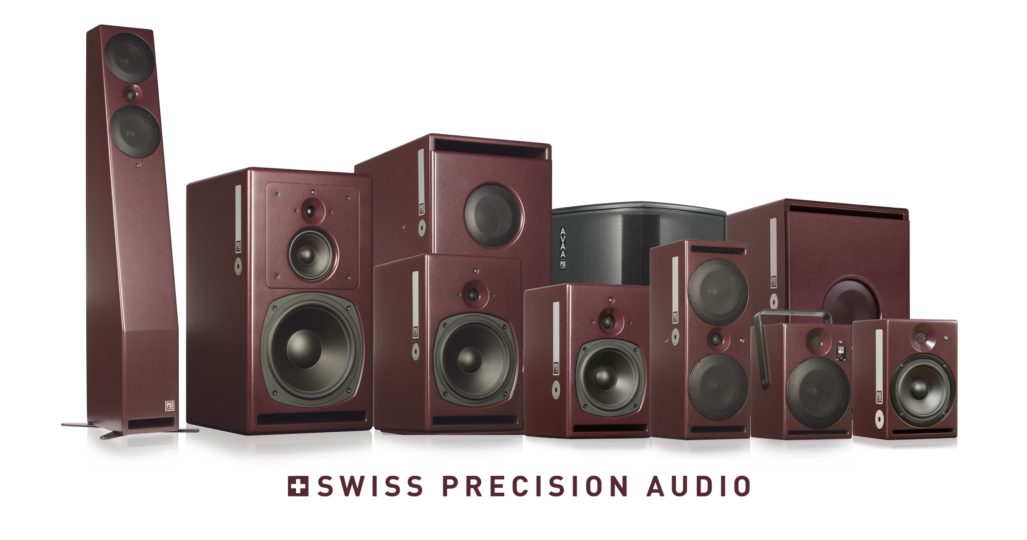 PSI Audio Active studio monitors complete family 2018
