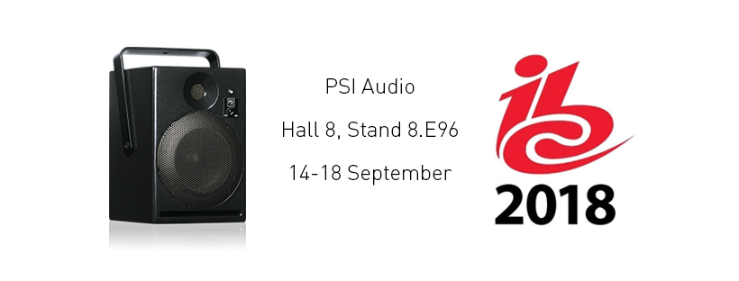 PSI Audio @ IBC 2018