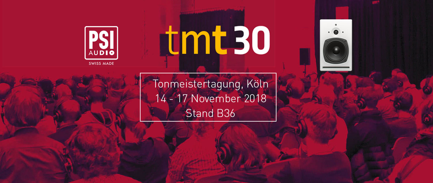 PSI Audio Tonmeistertagung Cologne 2018
