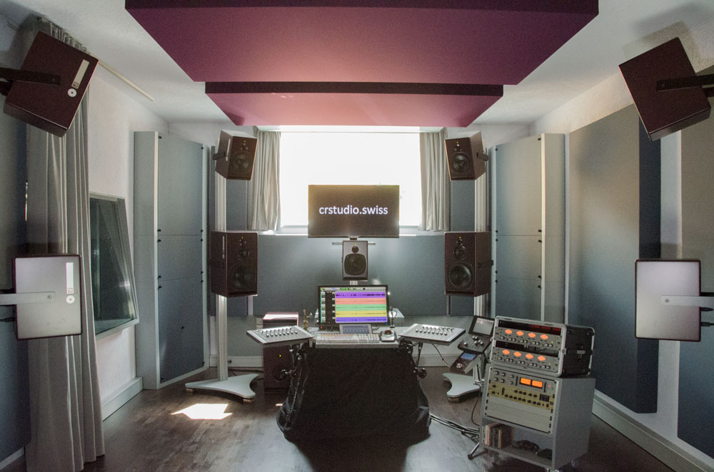 crstudio featuring immersive sound with A25-M and A21-M
