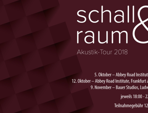 Schall & Raum Workshops in Germany