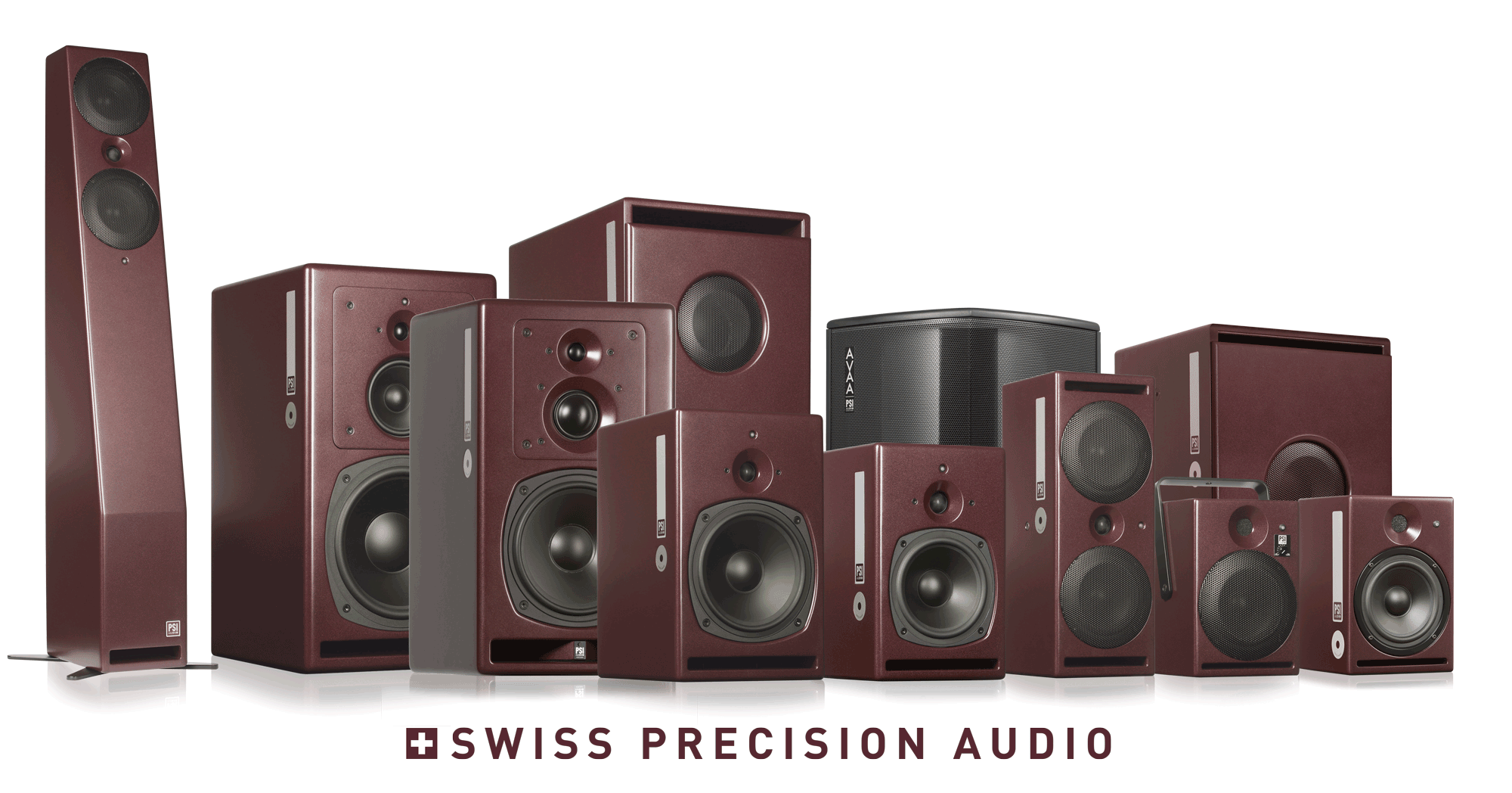 PSI Audio Active studio monitors complete family 2019