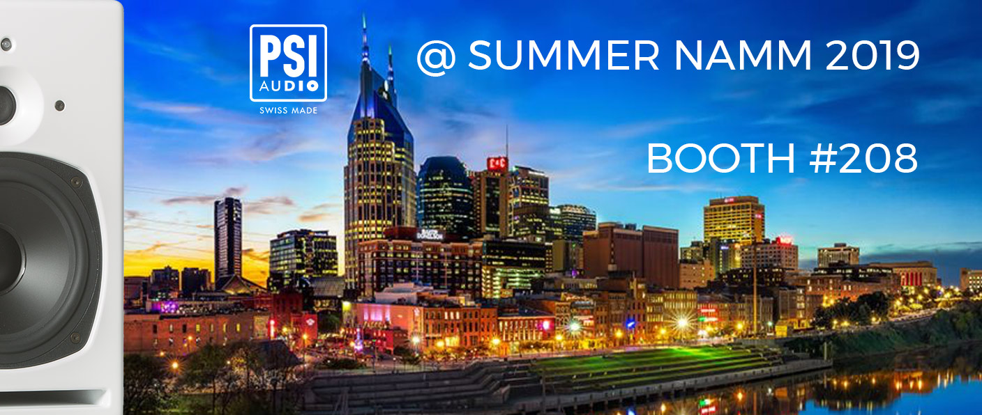 PSI Audio at SUMMER NAMM 2019