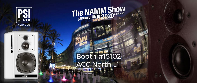 PSI Audio at NAMM Show 2020