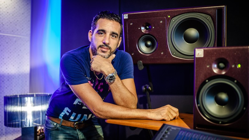 Ismael Antico from Soundimension with PSI Audio A25-M and A17-M