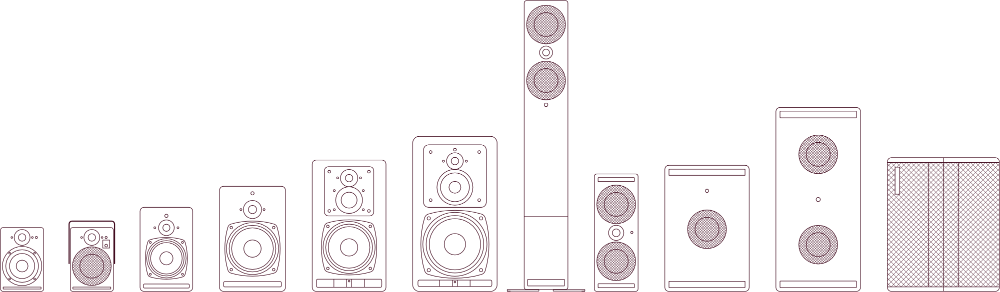 PSI Audio Studio Monitors and AVAA Family - Trademark